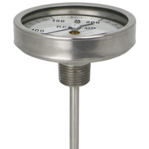 Back-Connecting Bimetal Thermometer by ReoTemp