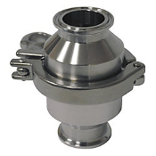 Spring Loaded Check Valve Clamp End